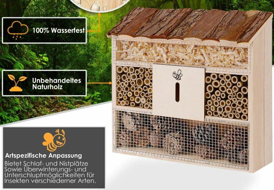 Ebay: Insektenhotel mit guten Bewertungen für 15,12 Euro frei Haus