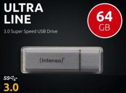 Ebay: Intenso Ultraline mit 64 GByte für 9,49 Euro frei Haus