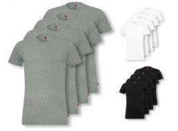 Levi's: Viererpack T-Shirts via Ebay für 36,99 Euro frei Haus