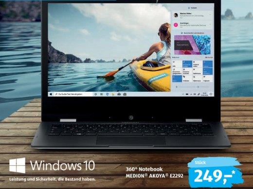 Aldi-Notebook: Einsteigermodell für 249 Euro, Gamer-Rechner für 799 Euro