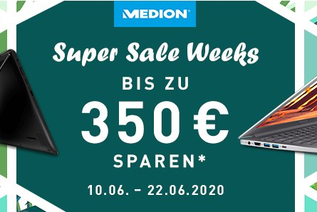 NBB: Medion-Sale mit Convertibles ab 299 Euro