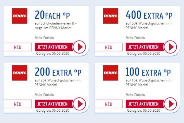 Penny: 8 Prozent Gutschein-Rabatt via Payback bis Samstag