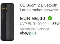 """Ebay: Bluetooth-Lautsprecher """"UE Boom 2"""" für 61 Euro frei Haus"""