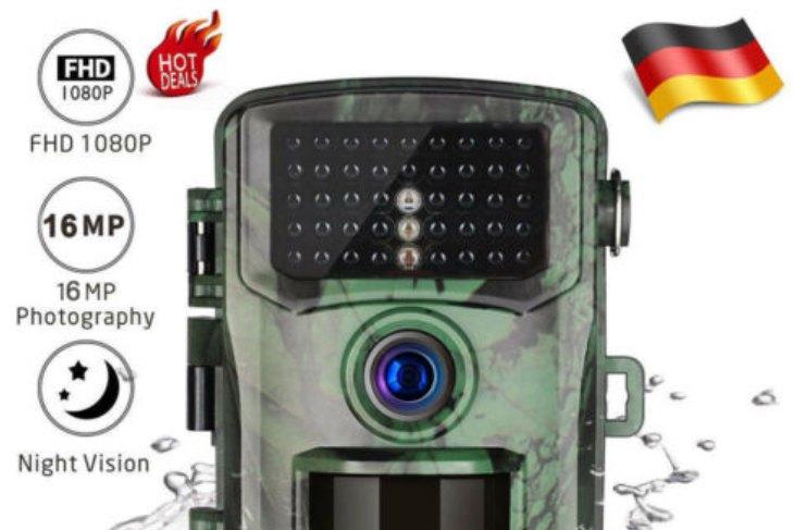 Ebay: Wildkamera mit Full-HD-Videos für 39,99 Euro frei Haus