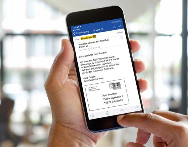 Deutsche Post: Kostenlose Briefankündigung bei GMX und Web.de