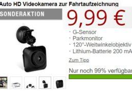 Druckerzubehoer: HD-Autokamera für 9,99 Euro plus Versand
