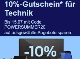 Ebay: 10 Prozent Rabatt auf Technik für zwei Wochen
