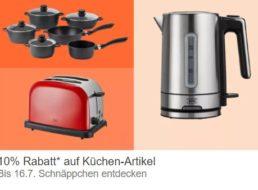 Ebay: Küchen-Rabatt von zehn Prozent auf über 75 Artikel