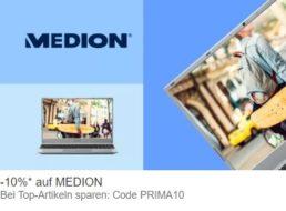 Ebay: 10 Prozent Rabatt auf bereits reduzierte Medion-Artikel