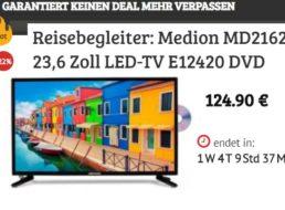 Dealclub: Zweit-TV mit Triple-Tuner und DVD-Player für 124,90 Euro