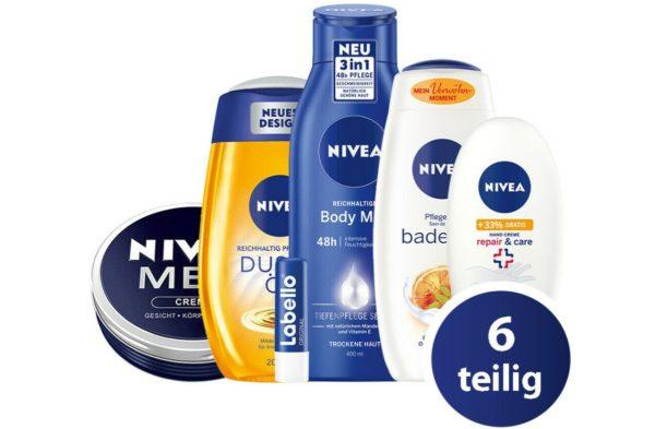 Ebay: Nivea-Pflegeset für 13,99 Euro und Markenshirts ab 5 Euro