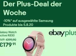 Samsung: 10 Prozent Rabatt für Kunden von Ebay Plus