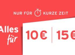 Tchibo: 10-Euro-Aktion mit über 300 Artikeln im Angebot
