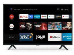 Ebay: Smart-TV von Xiaomi mit Prime Video und Netflix für 125,99 Euro
