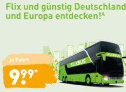 Aldi-Nord: Flixbus-Gutscheine für je 9,99 Euro