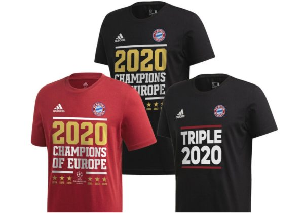 FC Bayern: Champions-League-Fanshirts zum Triple-Gewinn für 24,90 Euro