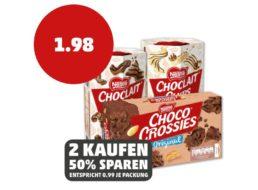 Penny: Choco Crossies und Choclait Chips zum halben Preis