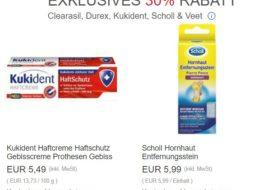 Ebay: 30 Prozent Rabatt und Gratis-Versand auf Drogerieartikel