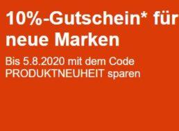 Ebay: 10 Prozent Rabatt auf Produktneuheiten
