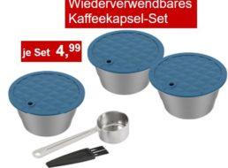 Aldi: Wiederverwendbares Kaffeekapsel-Set für 4,99 Euro