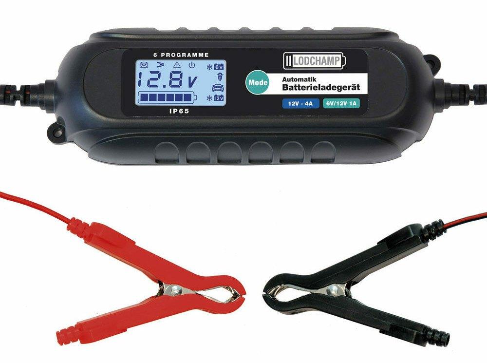 Ebay: KfZ-Batterieladegerät mit Erhaltungsladung für 19,69 Euro