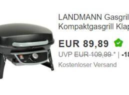 Ebay: Landmann-Gasgrill für 86,89 Euro durch Gutschein