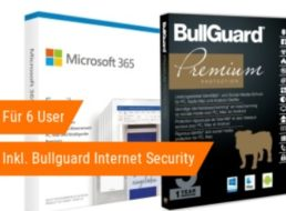 NBB: Office 365 Family mit Bullugard Internet Security für 47,62 Euro