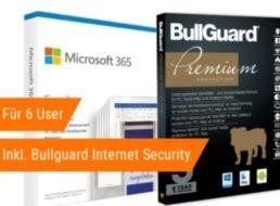 NBB: Office 365 Family mit Bullugard Internet Security für 47,62 Euro