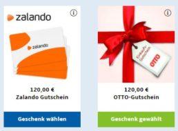 Gratis: Otto-Gutschein über 120 Euro zur TV-Zeitschrift für 116,90 Euro