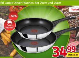 """Völkner: Zweierset Tefal-Pfannen """"Jamie Oliver"""" zum Bestpreis von 34,99 Euro"""