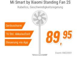 NBB: Xiaomi-Standlüfter mit Batteriebetrieb und App-Steuerung für 93,84 Euro