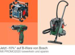 Ebay: B-Ware von Bosch nochmals 10 Prozent günstiger