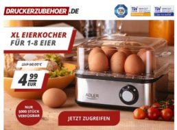 Druckerzubehoer.de: Eierkocher mit Omelette-Schale für 4,99 Euro