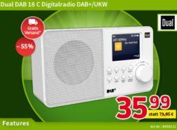 Völkner: DAB-Radio mit Farbdisplay für 35,99 Euro frei Haus