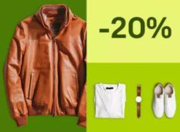 Ebay: Herbstmode zahlreicher Marken mit 20 Prozent Rabatt