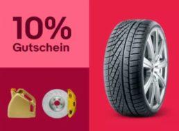 """Ebay: 10 Prozent Rabatt in der Kategorie """"Auto und Motorrad"""""""