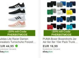 Puma: Boxershorts im Multipack mit 20 Prozent Extra-Rabatt