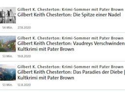 """Gratis: Sechs Hörbücher """"Pater Brown"""" in der ARD-Audiothek"""