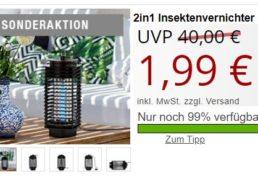Druckerzubehoer: Insektenvernichterlampe für 1,99 Euro