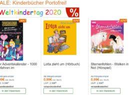 Terrashop: Kinderbücher und -CDs ab 99 Cent frei Haus