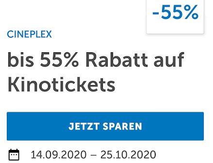 Lidl Plus: Fünf Cineplex-Tickets für 27,50 Euro