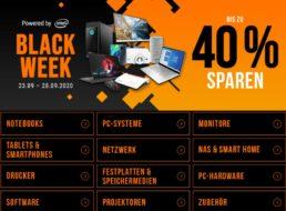 NBB: Black Week mit bis zu 40 Prozent Rabatt auf Elektronik & Software