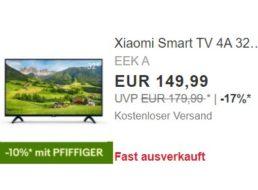 Xiaomi: Smart-TV mit Triple-Tuner für 134,99 Euro frei Haus