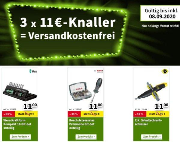 Völkner: 24 Artikel für je 11 Euro, Option auf Gratis-Versand