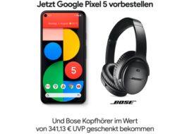 Gratis: Bose-Kopfhörer QC 35 II zum neuen Google Pixel 5 für 613,14 Euro