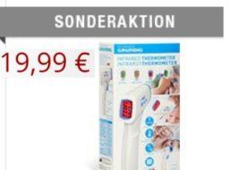 Druckerzubehoer.de: Infrarot-Fieberthermometer von Grundig für 19,99 Euro