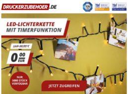 Gratis: LED-Lichterkette für Besteller ab 30 Euro Warenwert