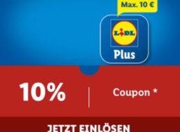 Lidl Plus: 10 Prozent Rabatt via App bis Ende Oktober möglich