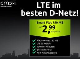 Telekom-Netz: Smart Flat mit 750 MB und 100 Minuten für 2,99 Euro