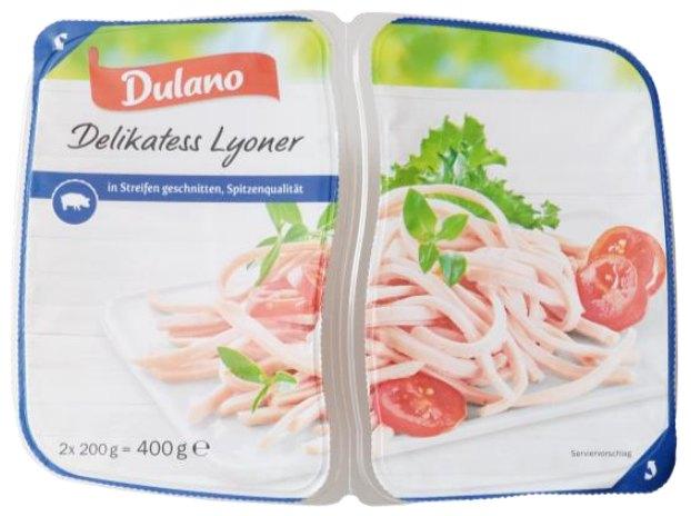 "Listerien-Alarm: Lidl ruft ""Dulano Delikatess Lyoner"" zurück"